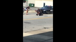 Euclid police officer on paid leave after video of violent arrest goes viral on Facebook - Video