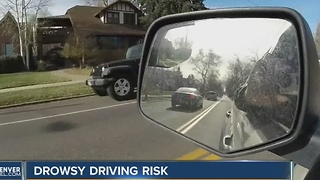 New sleep study shows impact on driving - Video