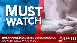 Time Capsule Buried By Paul Revere And Samuel Adams Finally Opened To See What's Inside - Video