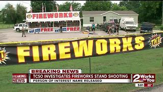 TCSO Investigating fireworks stand shooting - Video