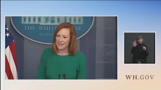Psaki Confronted For Biden Taking Political Trips But Not Visiting Border