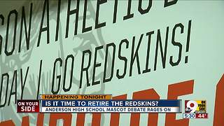 Is it time for Anderson High School to retire the Redskins mascot? - Video