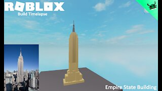 Roblox Build Timelapse: Empire State Building