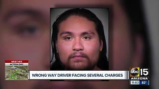 Wrong-way driver on Loop 101 arrested