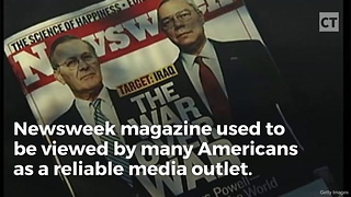 Out-of-Touch Newsweek Can't Write about Real News, Runs Story on Trump's Hair - Video