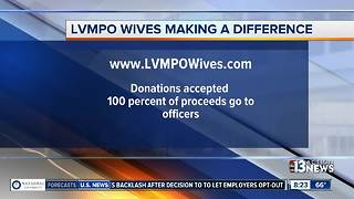 Las Vegas police wives helping victims, families and still looking for donations - Video