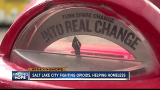 FINDING HOPE: How Salt Lake City is helping the homeless with substance abuse issues