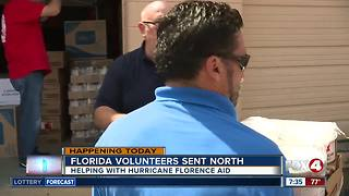 Salvation Army sends volunteers North ahead of Hurricane Florence - Video