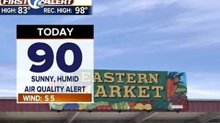 Heat, humidity increase - Video