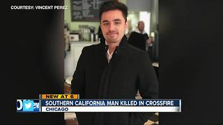 Southern California man killed in Chicago shooting