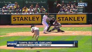 Mallex Smith singles in run in 13th inning to lift Tampa Bay Rays over Oakland Athletics 1-0 - Video