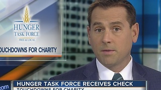 Packers, Sargento Foods presents $39K check to Hunger Task Force - Video