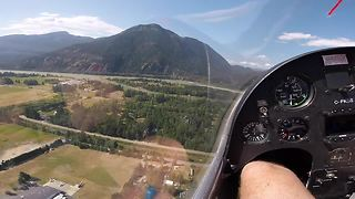 Eagle eye view of British Columbia's stunning mountain range - Video