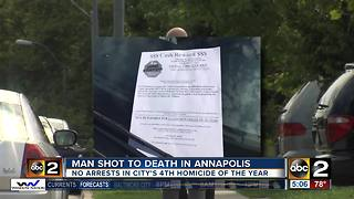 Man dies after being shot outside Annapolis home