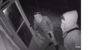 Footage Shows Armed Break-In While Family Were Still Inside Wisconsin Home - Video