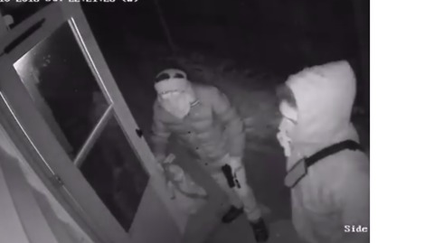 Footage Shows Armed Break-In While Family Were Still Inside Wisconsin Home