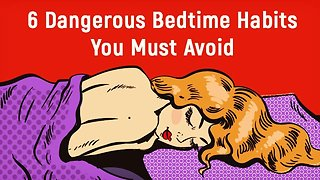 How To Sleep Better By Avoiding These Bedtime Habits