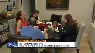 Intuitive eating: how to get kids to make better food choices
