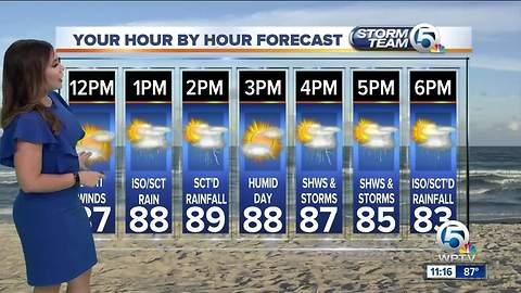South Florida Friday afternoon forecast (9/21/18)