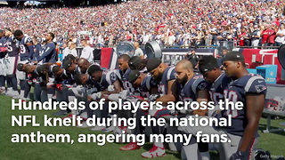 Philadelphia Eagles Go Against Anthem Kneeling Nfl Culture… Players Refuse To Kneel - Video