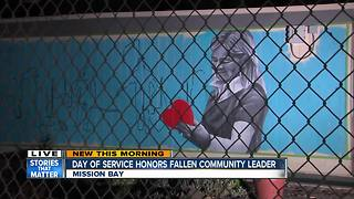 Community plans day of service to honor fallen 'Graffiti Lady' - Video