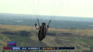Paragliding with Cedar Wright - Video