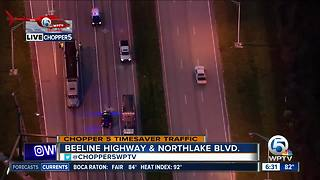 Crash hampers traffic on Beeline Highway at Northlake Boulevard - Video