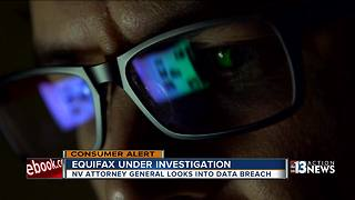 NV AV investigates Equifax - Video