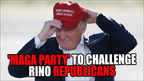 Trump wants 'MAGA PARTY' to CHALLENGE RINOS!