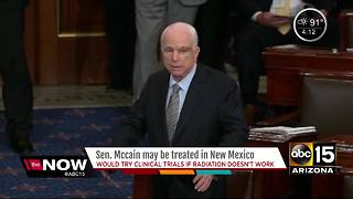Senator John McCain may be treated in New Mexico for brain cancer - Video