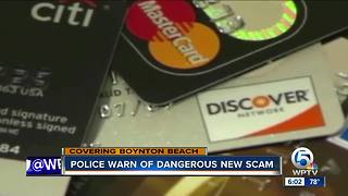 Credit card scam concerns Boynton Beach police - Video