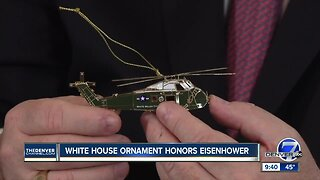 White House Christmas ornament honors Eisenhower