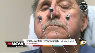 The local VA has a new way to combat chronic headaches - Video