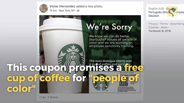 Is Starbucks Offering Coupons for Black Customers Only?