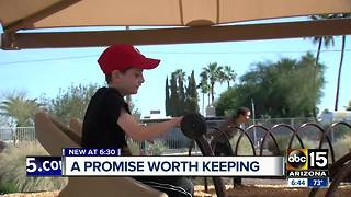 Scottsdale school gets promised playground equipment - Video