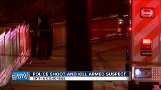 MPD officers shoot, kill suspect - Video