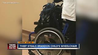 6-year-old boy's wheelchair returned after being mistakenly taken from Brandon driveway
