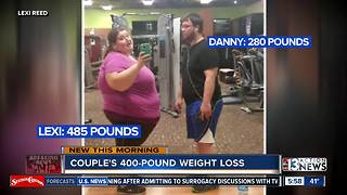 Couple shares 400 pound weight loss - Video