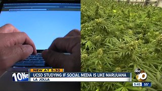 UCSD studies 'how high' teens are on social media
