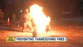 Thanksgiving Safety Tips: Burning the bird is bad, but a fryer fire is worse - Video