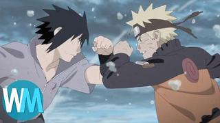 Top 10 Naruto Shippuden Fight Scenes - Video