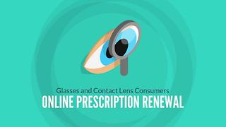 Online Glasses and Contact Lens Renewal