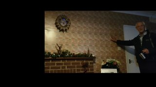It's Wall to Wall Christmas: Wife Surprises Husband With Festive Decorations - Video