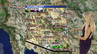 The Valley taking a break from monsoon thunderstorm threats - Video