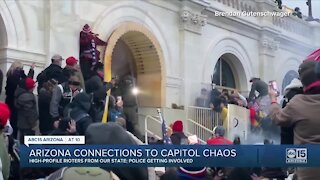 Arizona connections to Capitol chaos