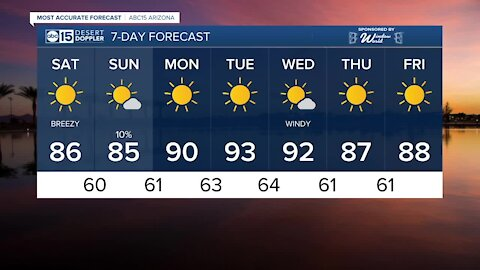 MOST ACCURATE FORECAST: Cool mornings, comfortable afternoons continue