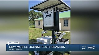 New mobile license plate readers in Hendry County
