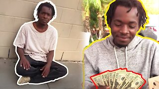 Changing Homeless Man's LIFE!
