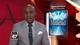 Revised Medicaid work requirement bill - Video