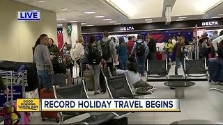 AAA predicts record travel over Christmas and New Year's